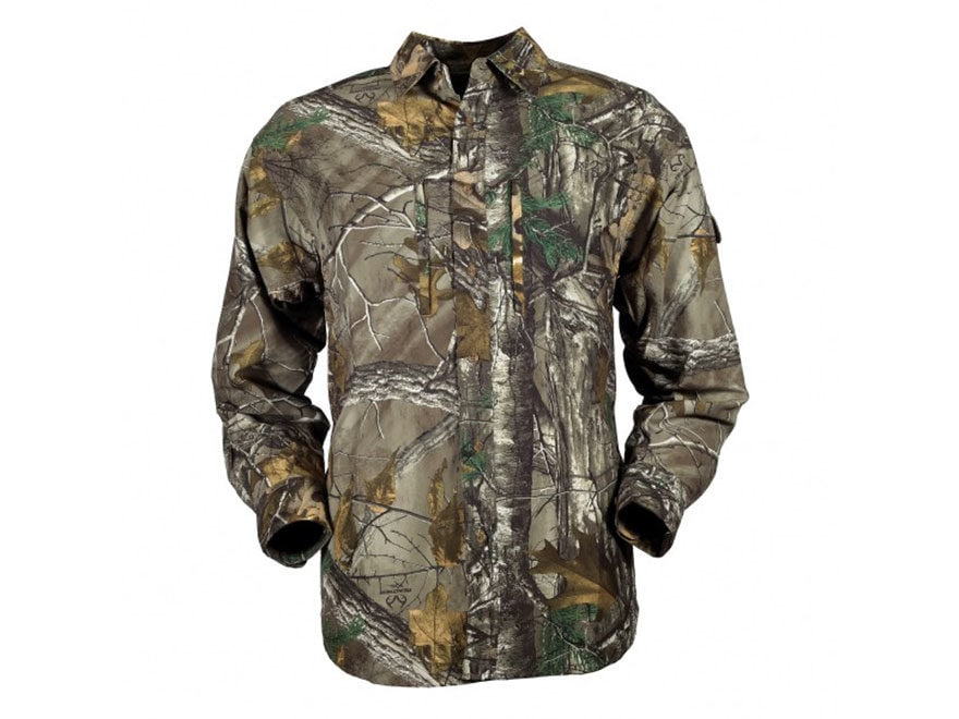 Gamehide Men's Elimitick Ultra-Lite Shirt Long Sleeve Synthetic Blend