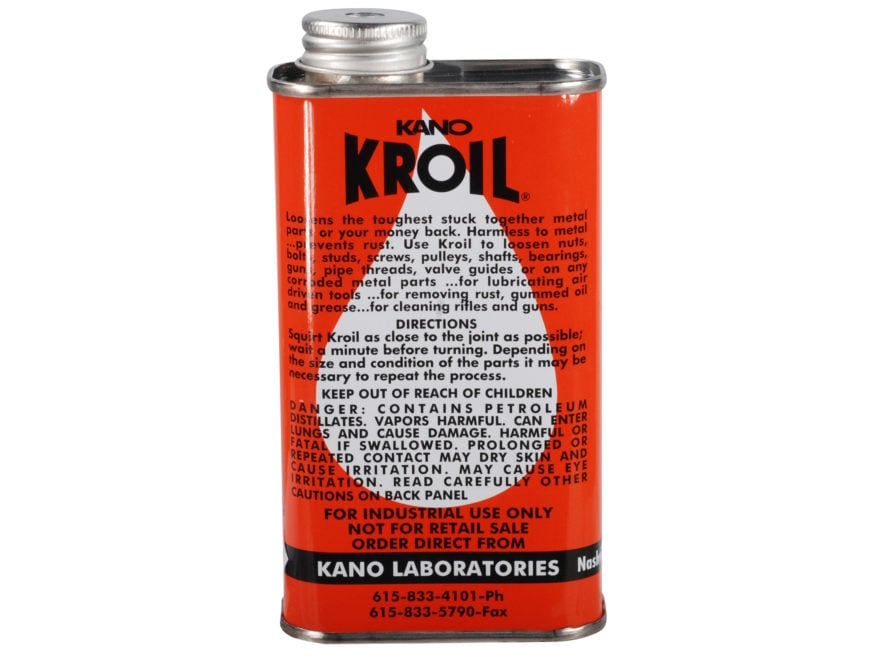 Kano Kroil Penetrating Oil and Bore Cleaning Solvent