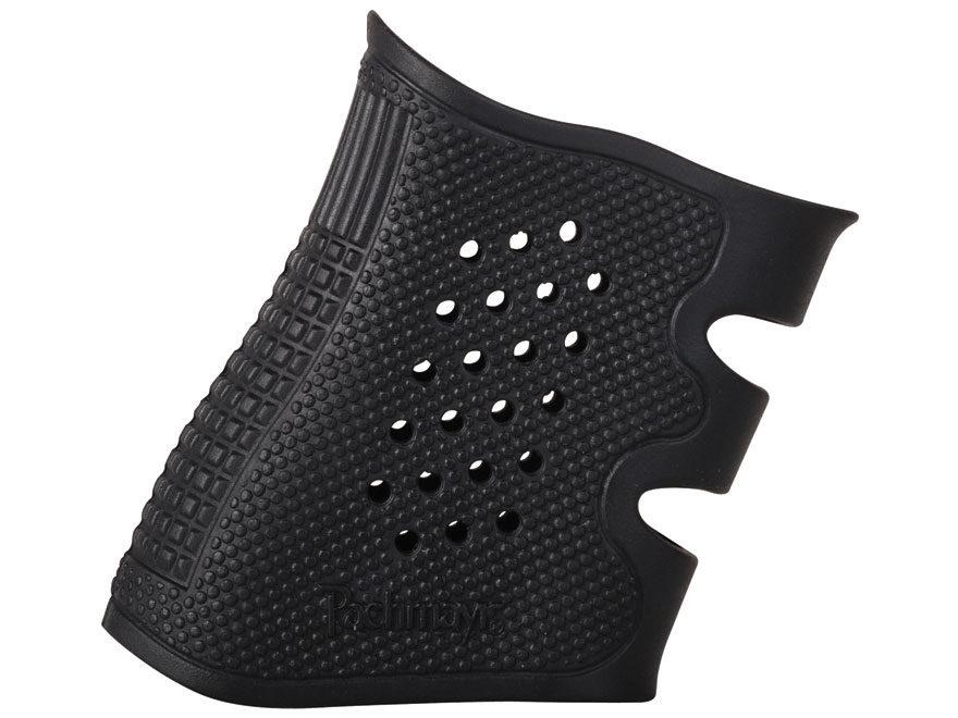 Pachmayr Tactical Grip Glove Slip-On Grip Sleeve Glock 19, 23, 25, 32, 38 Rubber Black