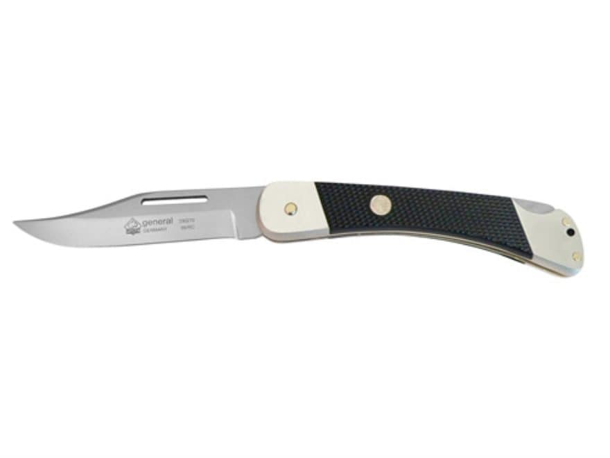 "Puma Classic Military Series General Folding Knife 3.7"" Clip Point German 440A Stainles..."