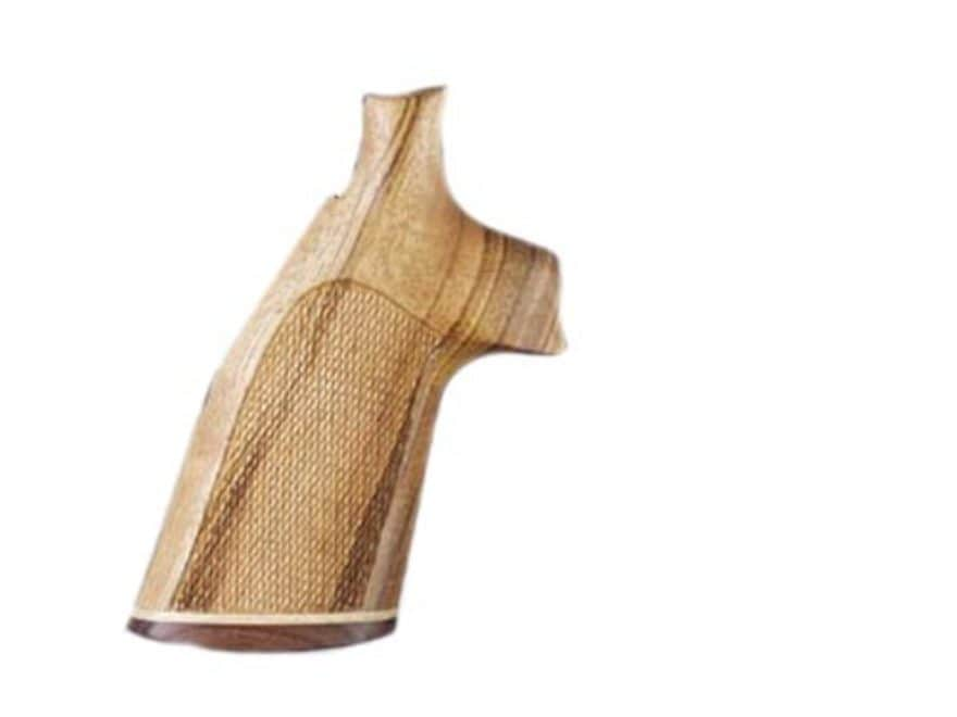 Hogue Fancy Hardwood Grips with Accent Stripe Ruger Security Six Checkered