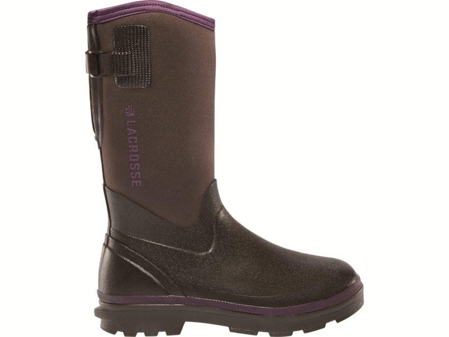 """LaCrosse Alpha Range 12"""" Waterproof 5mm Neoprene Insulated Work Boots Rubber/Neoprene W..."""