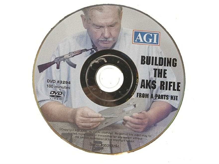"American Gunsmithing Institute (AGI) Video ""Building the Legal AKS Rifle from a Parts K..."