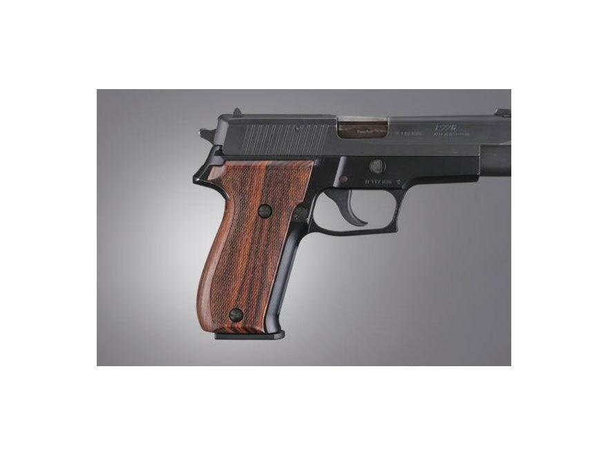 Hogue Fancy Hardwood Grips Sig Sauer P226 Checkered
