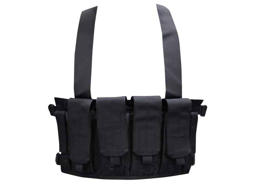 BLACKHAWK! Chest Rig Holds 8 AR-15 30 Round Magazines and 2 Double Stack Pistol Magazin...