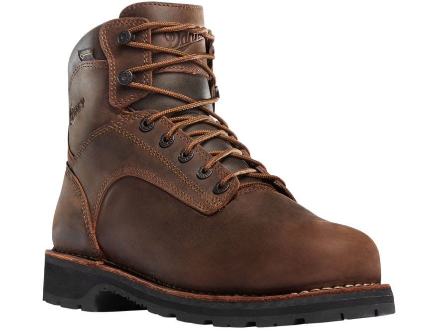 "Danner Workman 6"" GORE-TEX Aluminum Safety Toe Work Boots Leather Men's"