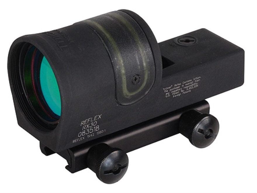Trijicon RX30A-51 Reflex Sight 1x 42mm 6.5 MOA Dual-Illuminated Amber Dot with TA51 Mou...