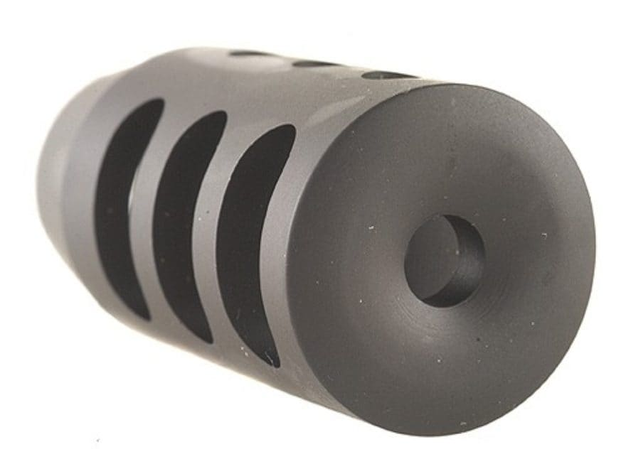 """Holland's Quick Discharge Muzzle Brake 3/4""""-28 Thread .775""""-.850"""" Barrel Tapered Chrome..."""