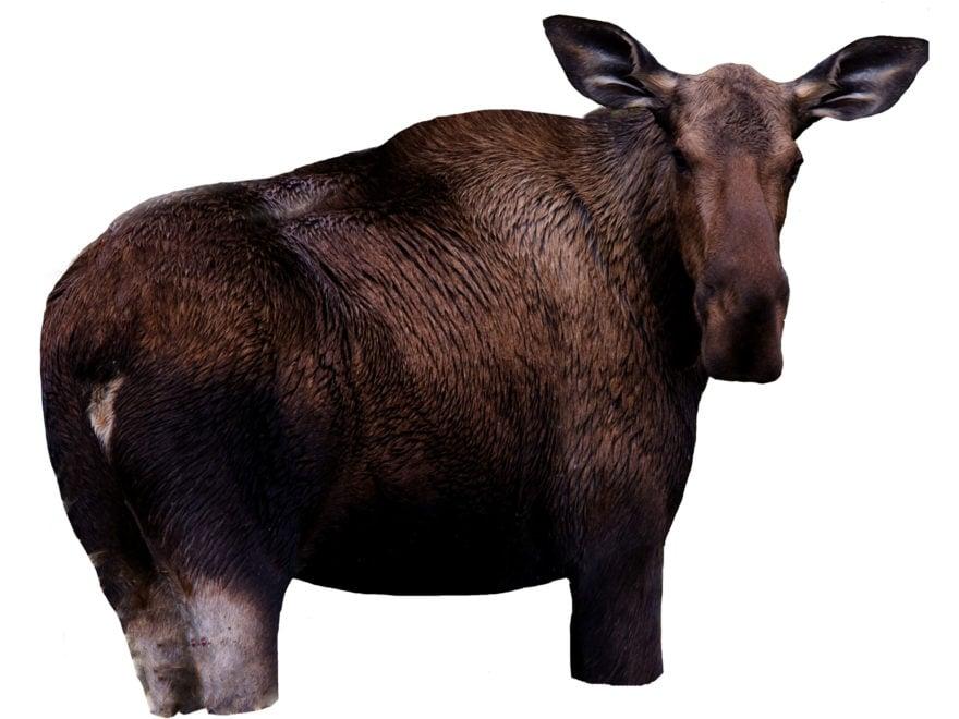 Montana Decoy Moose II Moose Decoy Cotton, Polyester and Steel
