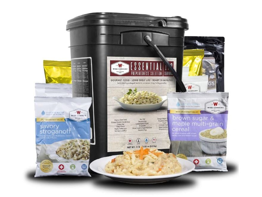 Dried Foods For Emergency Preparedness: Wise Company 172 Serving Essential Preparedness Freeze