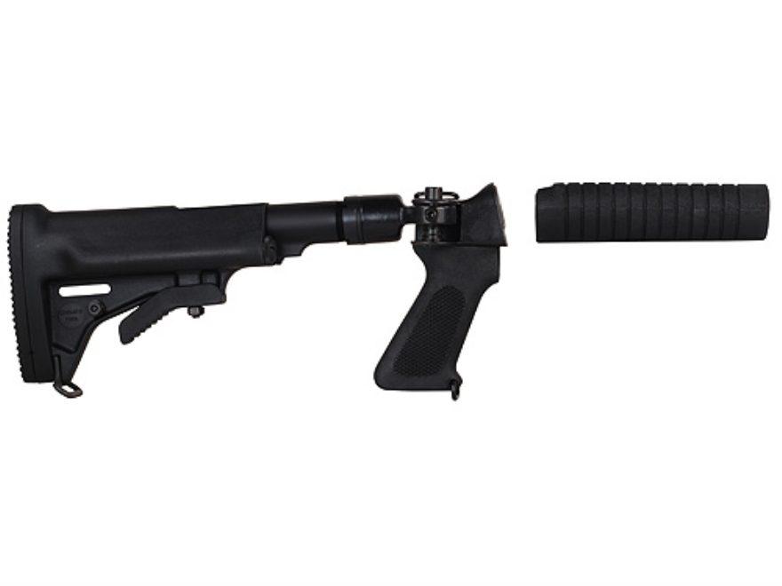 Choate Adjustable Side Folding Stock Remington 870 12 Gauge Steel and Composite Black