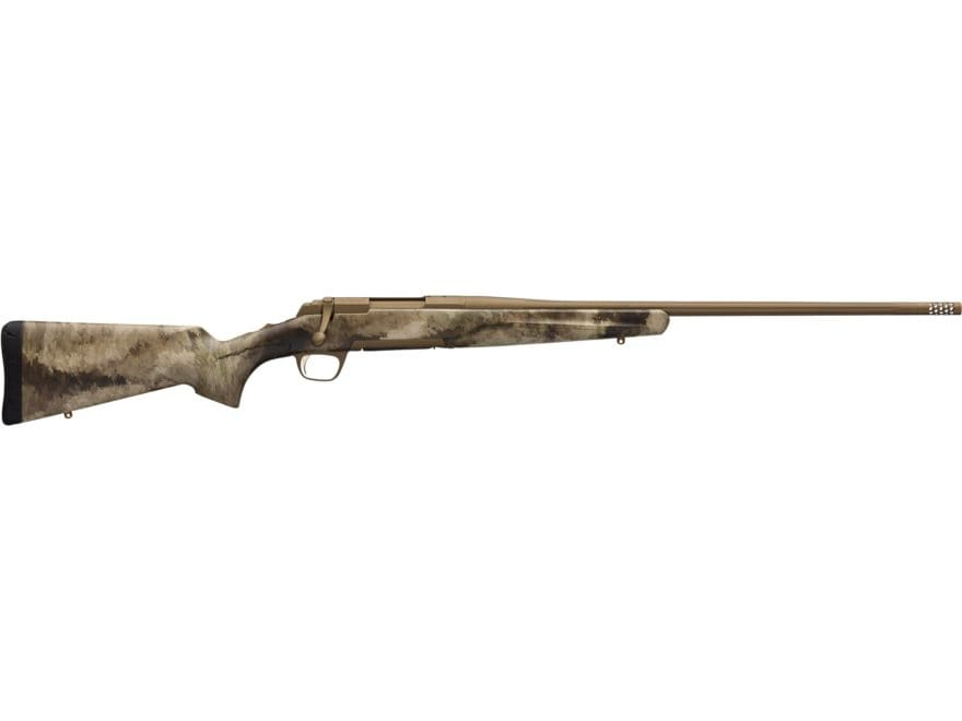 Browning X-Bolt Hell's Canyon SPEED Rifle Burnt Bronze and A-TACS AU Camo