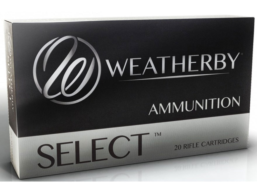 Weatherby Select Ammunition 270 Weatherby Magnum 130 Grain Norma Spitzer Box of 20