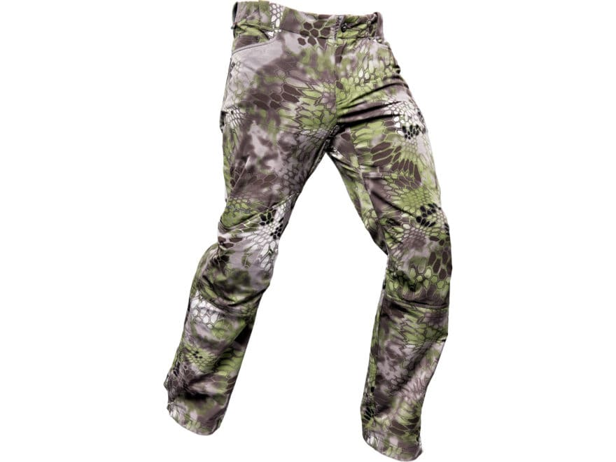 Kryptek Altitude Men's Bora Softshell Windproof Pants Synthetic Blend