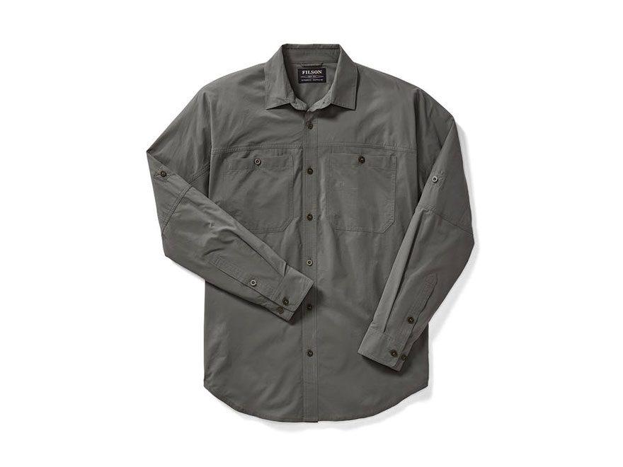Filson Men's Alagnak Button-Up Shirt Long Sleeve Nylon