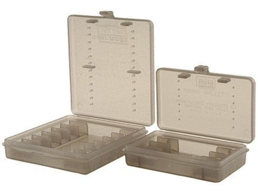 MTM Ammo Wallet Pistol Ammunition Carrier 6-Round and 12-Round Combo 44 Special, 44 Rem...