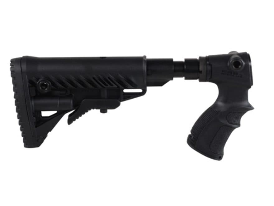 FAB Defense M4-Style Collapsible Buttstock with Recoil Reducing Shock Absorber Remingto...
