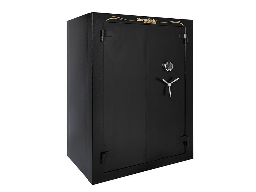 SnapSafe Super Titan XXL Double Door Fire-Resistant 56-Gun Modular Safe with Electronic...