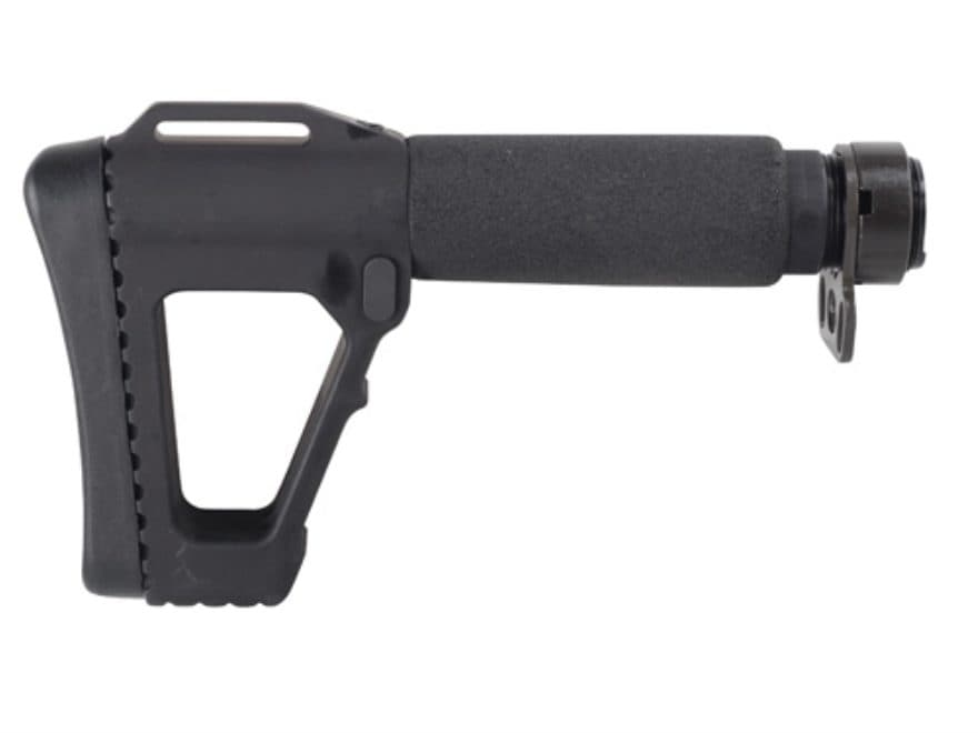 DoubleStar ACE M4 SOCOM Gen 4 Stock 5-Position Collapsible AR-15, LR-308 Aluminum Black