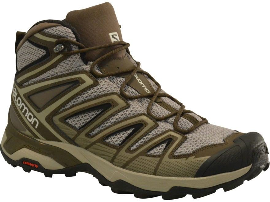 "Salomon X Ultra Mid 3 Aero 5"" Hiking Boots Leather/Synthetic Men's"