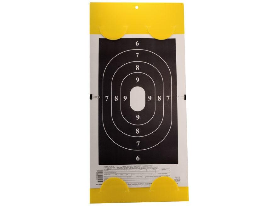 "EZ Target Handgun Silhouette Replacement Pad Target 14"" x 22"" Paper Pack of 15"