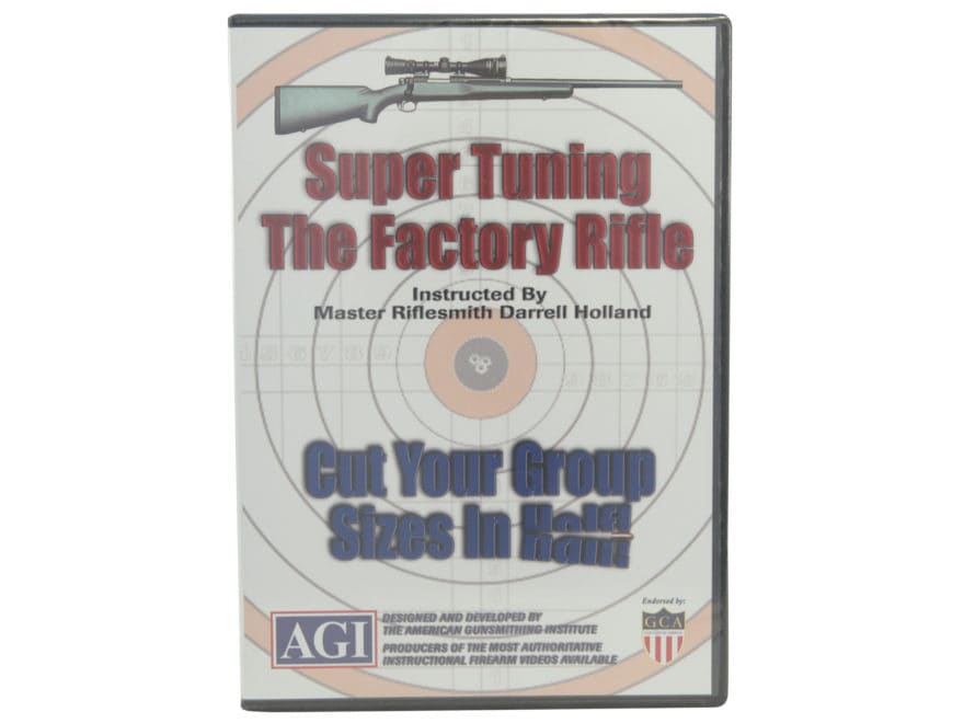 "American Gunsmithing Institute (AGI) Video ""Super Tuning the Factory Rifle"" DVD"
