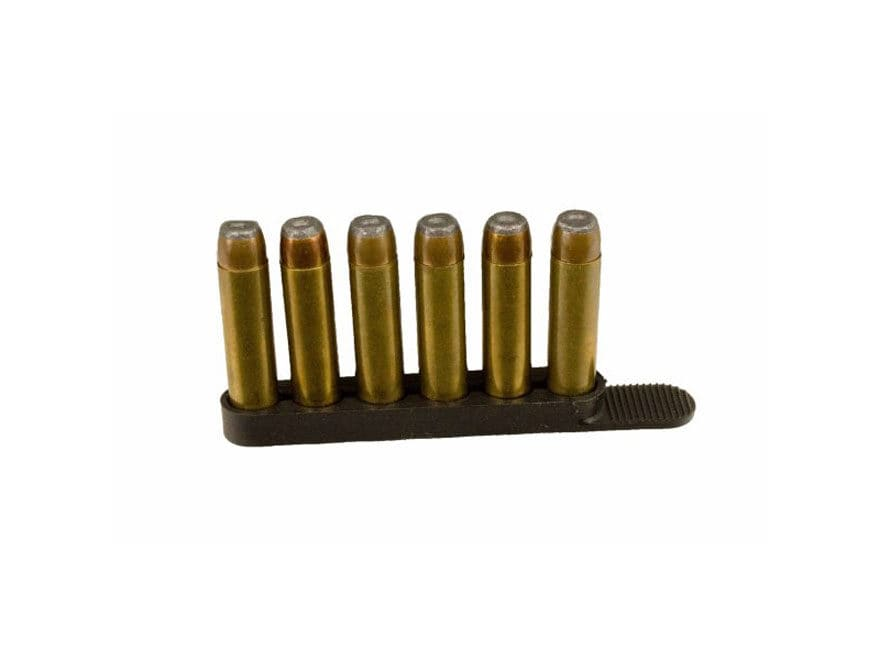 DeSantis Swift Strip (2 PACK) Holds 6 Rounds of .38/.357, Black