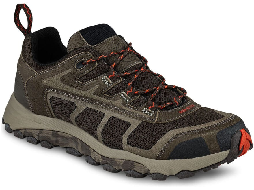 "Irish Setter Drifter 4"" Hiking Shoes Leather/Nylon Brown Men's"