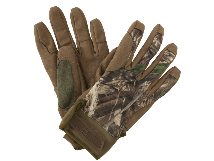Banded Men's Soft Shell Blind Gloves Polyester
