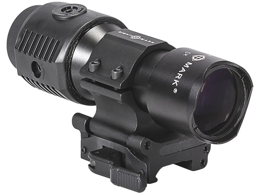 Sightmark Tactical Magnifier 30mm Tube 5x with Flip to Side Quick Detachable Weaver-Sty...