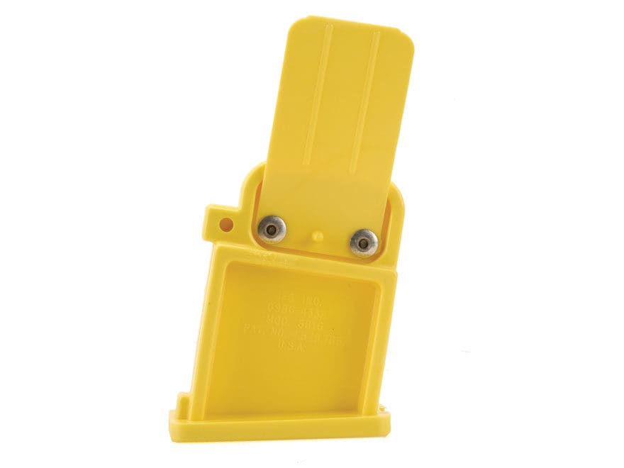 Boonie Packer Safety Magazine Well Bolt Block with Ejection Port Flag AR-15 Yellow
