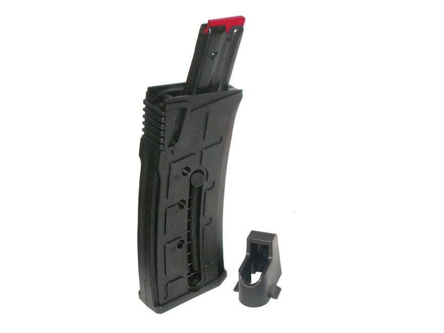 Mossberg Magazine Mossberg 702 Plinkster 22 Long Rifle 25 Round Synthetic Black with Lo...