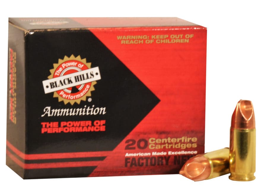 Black Hills HoneyBadger Ammunition 9mm Luger Subsonic 125 Grain Lehigh Xtreme Defense L...