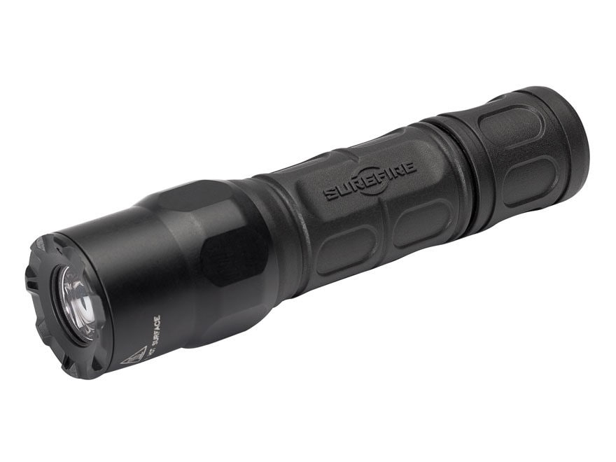 Surefire G2X-MV Flashlight LED with 2 CR123A Batteries Polymer Black