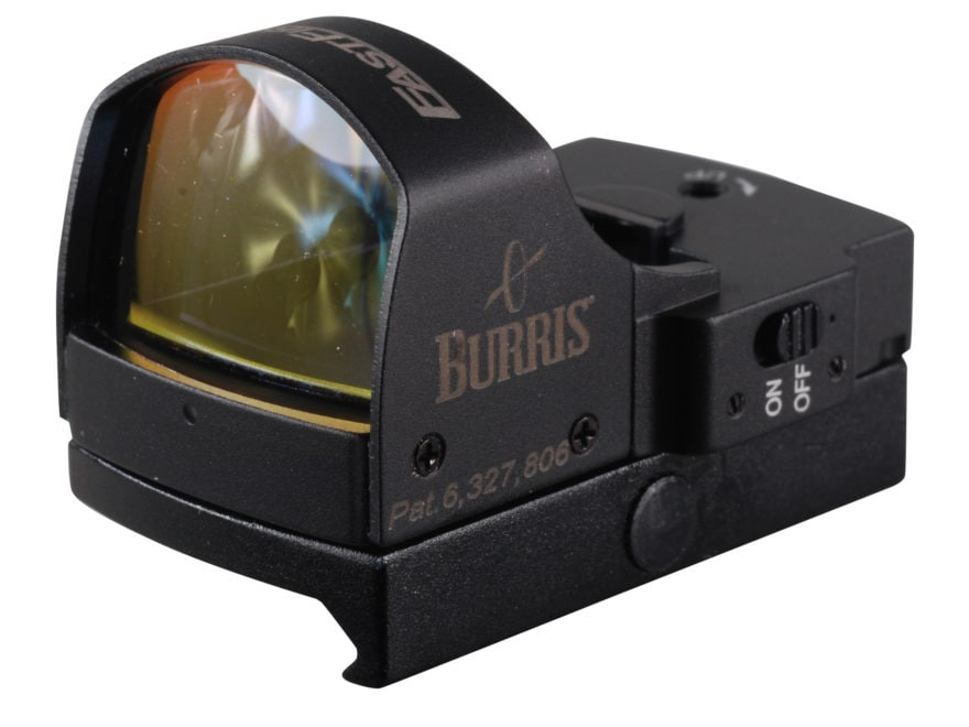 Burris FastFire II Reflex Red Dot Sight 4 MOA with Picatinny Mount Matte