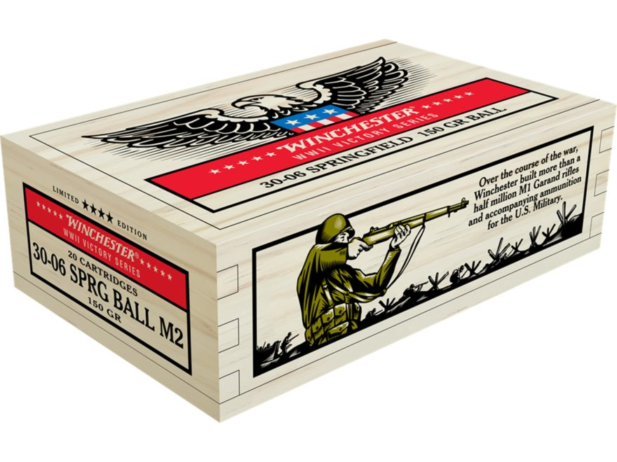 Winchester Limited Edition WWII Victory Series Commemorative Ammunition 30-06 Springfie...