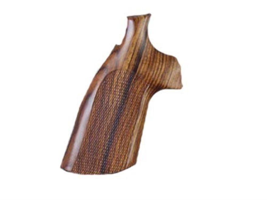 Hogue Fancy Hardwood Grips Colt Anaconda, King Cobra Checkered