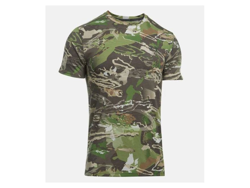 Under Armour Men's UA Charged Cotton Camo T-Shirt Short Sleeve