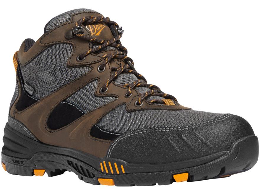 "Danner Springfield 4.5"" Waterproof Non-Metallic Safety Toe Work Boots Leather/Nylon Bro..."