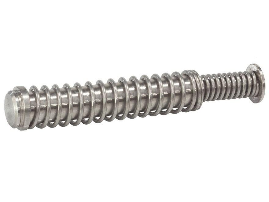 Glockstore Stainless Steel Guide Rod Assembly Glock 17, 34 Gen 4 Stainless Steel Cap