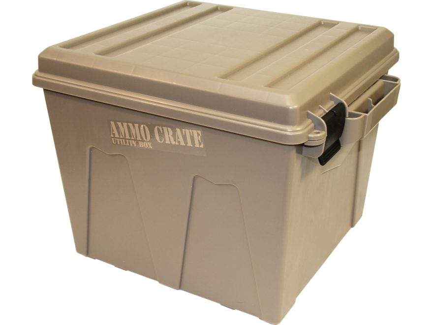 MTM Ammo Crate Polypropylene Dark Earth