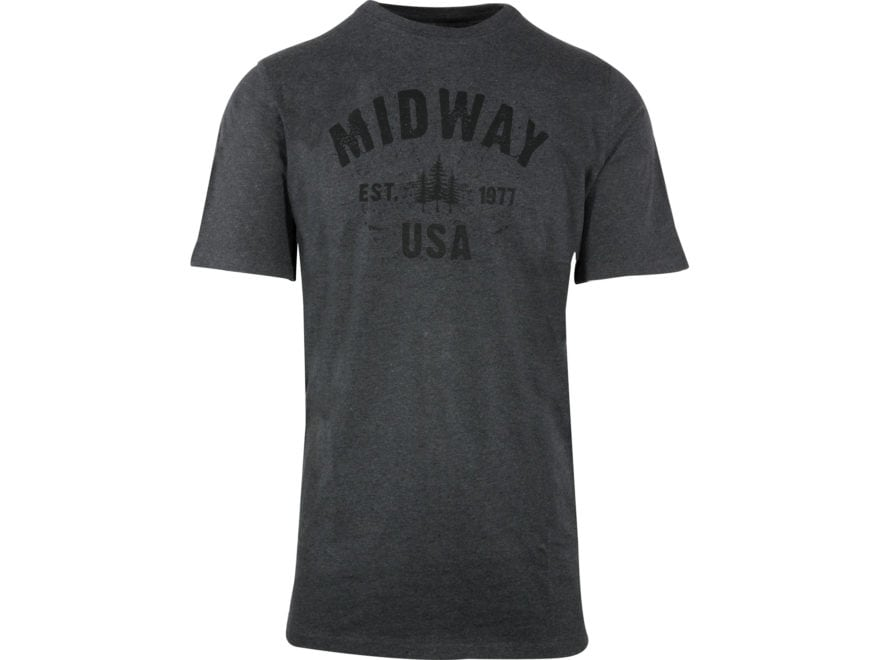 MidwayUSA Men's Short Sleeve T-Shirt Cotton Blend