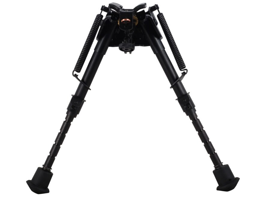 "Harris S-BRM Bipod Leg Notch Sling Swivel Stud Mount 6"" to 9"" Black"