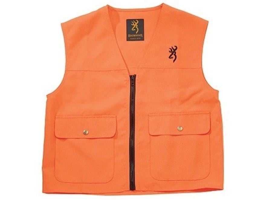 Browning Mens Safety Vest Polyester