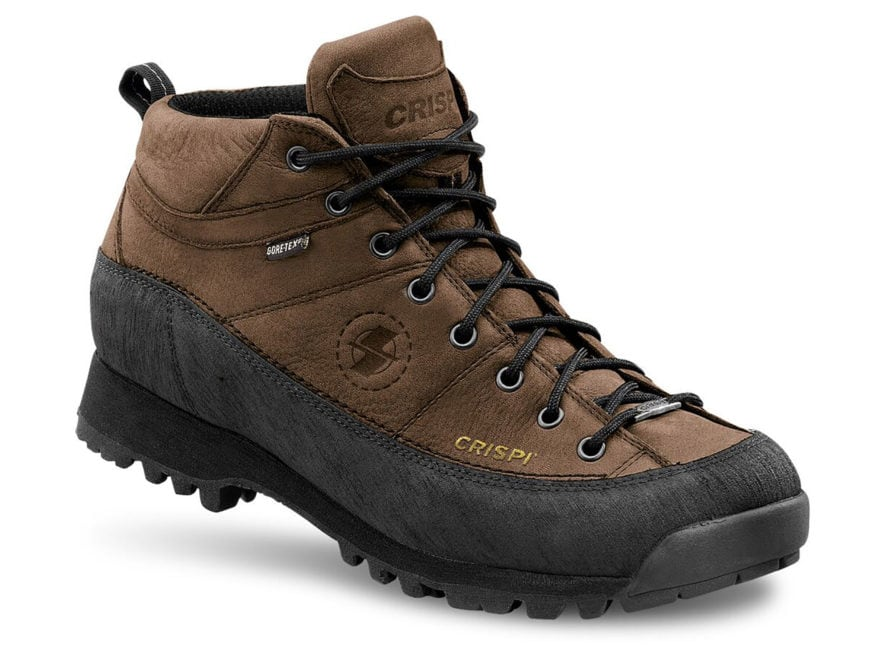 "Crispi Monaco GTX 6"" Waterproof GORE-TEX Hiking Boots Leather Men's"