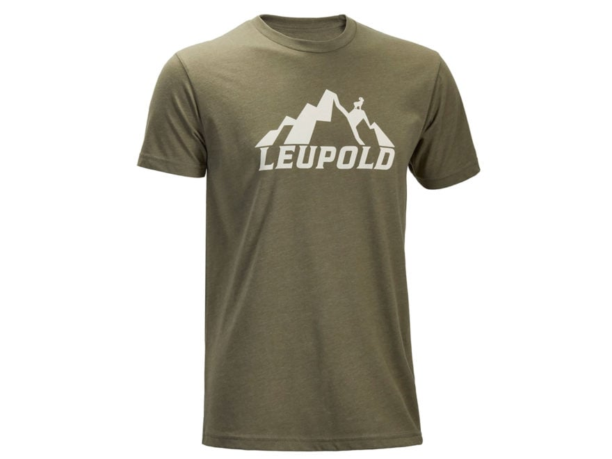 Leupold Men's Mountain Leupold T-Shirt Short Sleeve Cotton/Poly