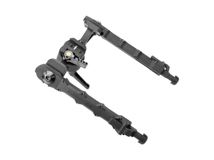 "Accu-Tac FC-5 Bipod Quick Detach Mount 5"" to 8.5"" Aluminum Black"