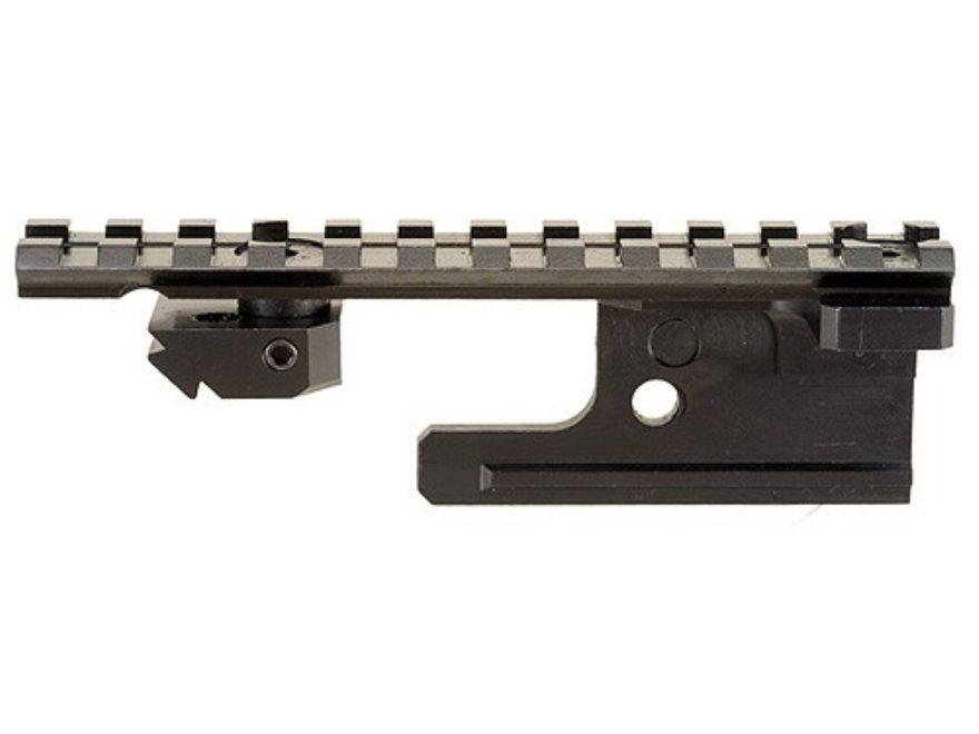 Leatherwood Hi-Lux 1-Piece Tactical Picatinny-Style Scope Base with Windage Adjustment ...