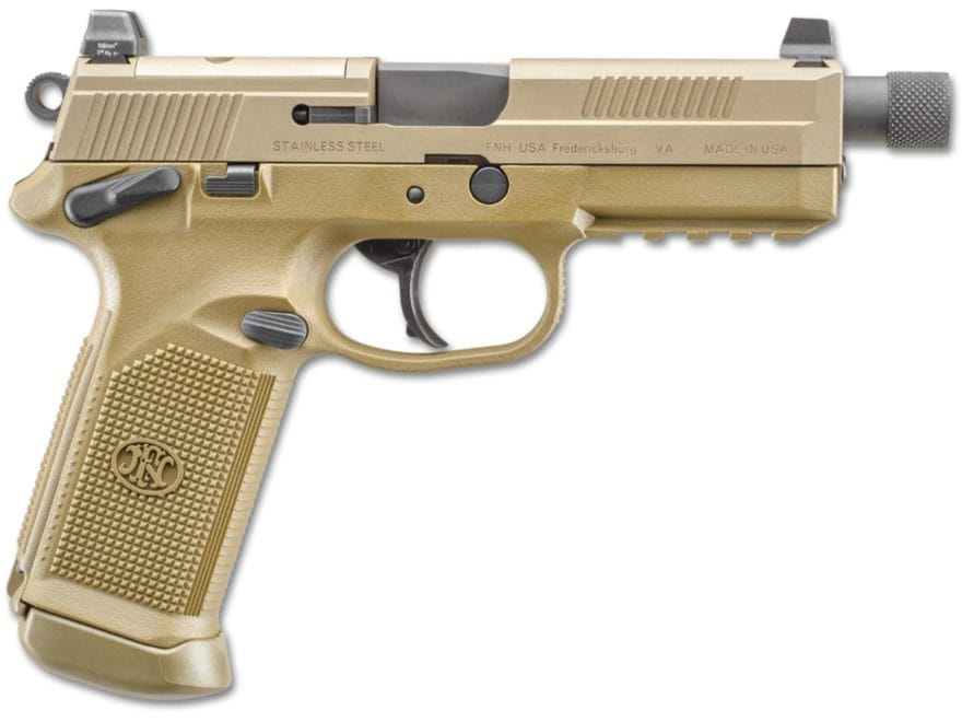 "FN FNX-45 Tactical Pistol 45 ACP 5.3"" Barrel Night Sights Polymer"