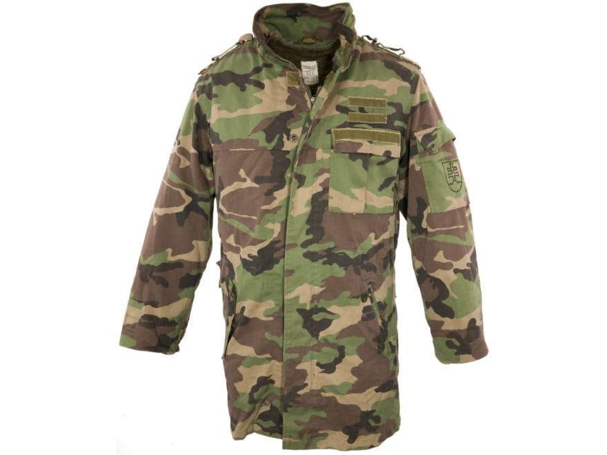 Military Surplus Czech M97 Parka with Liner Camo